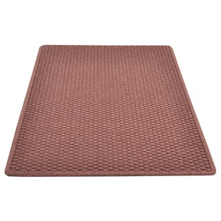 Swirl Recycled Rubber Welcome Mat 18 X 30 Inch