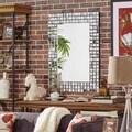 Tilden Mosaic Tile Frame Rectangular Accent Wall Mirror