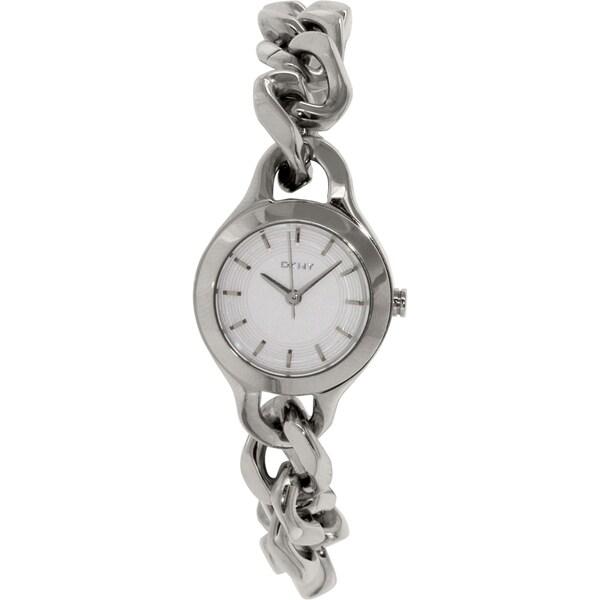 DKNY Women's Chambers NY2212 Stainless Steel Analog Quartz Watch