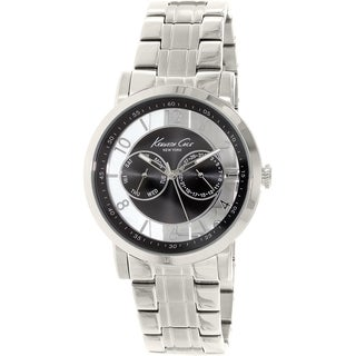 Kenneth Cole Men's New York KC9375 Stainless Steel Analog Quartz Watch