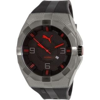Puma Men's PU103921001 Grey Rubber Quartz Watch
