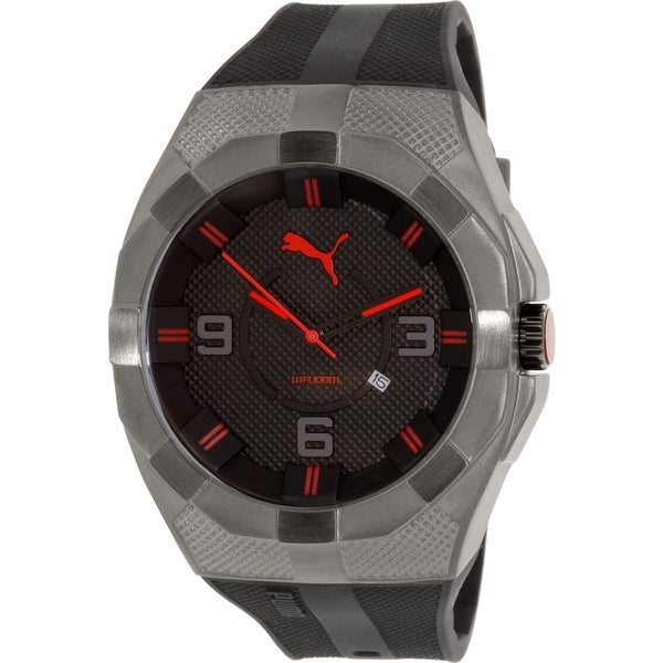 Puma Men's PU103921001 Grey Rubber Quartz Watch
