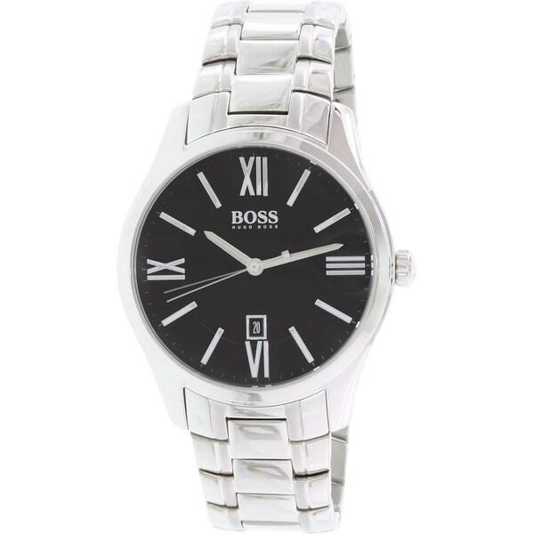 Hugo Boss Men's Ambassador 1513025 Stainless Steel Quartz Watch