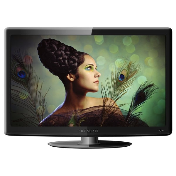 "ProScan PLEDV1945A 19"" TV/DVD Combo - HDTV - 16:9 - 1366 x 768 - 720p (As Is Item)"