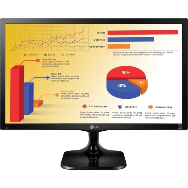 "LG 24MC37D-B 24"" LED LCD Monitor - 16:9 - 5 ms (As Is Item)"