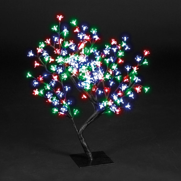 2-foot Blossom Tree 96 Multi LEDS UL Lights
