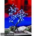 2-foot Blossom Tree 96 Blue LEDS UL Lights