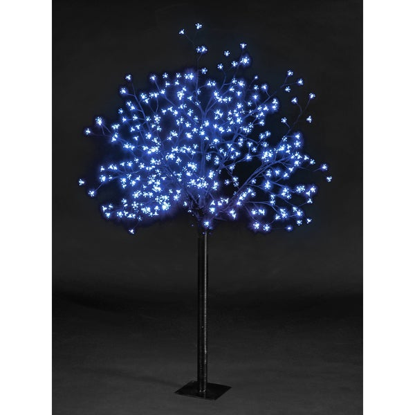 6-foot Blossom Tree 240 Blue LEDS UL Lights