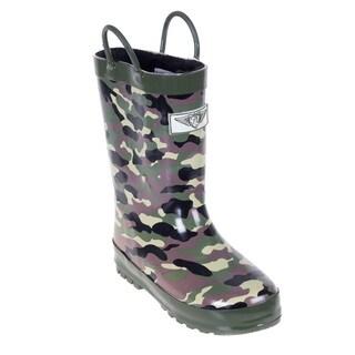 Kids' Camo Rain Boots