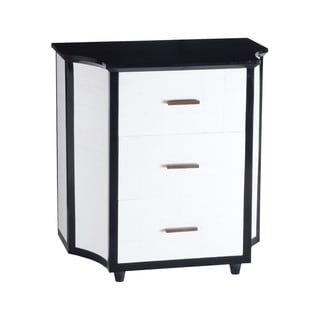 LS Dimond Home Chamfer Side Chest