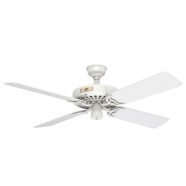 Hunter Original Fan 52-inch White White 5-blade Ceiling Fan