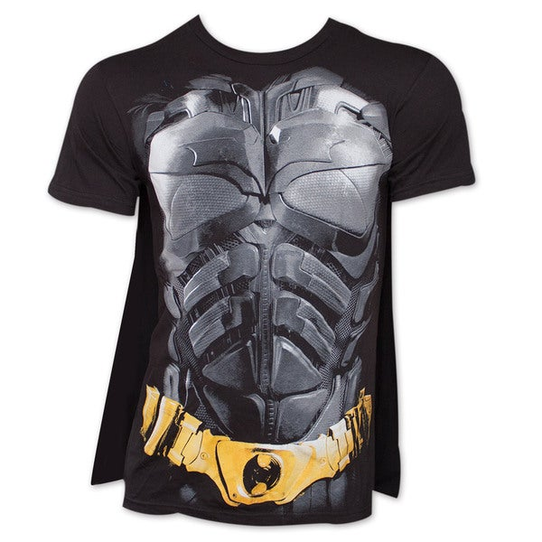 Batman Dark Knight Black T-shirt with Cape