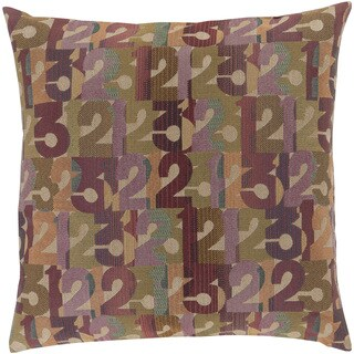 Mike Farrell: Decorative Bingley Graphic Print 22-inch Throw Pillow