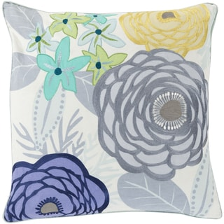 KD Spain: Decorative Maurice Floral 18-inch Throw Pillow