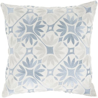 Kate Spain: Decorative Carole Floral 18-inch Throw Pillow
