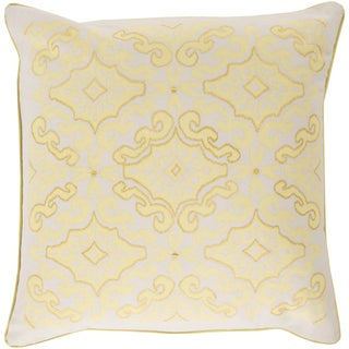 Kate Spain: Decorative Colten Floral 18-inch Throw Pillow