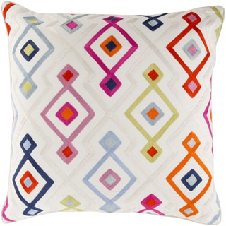 Kate Spain: Decorative Cayden Woven Geo 18-inch Throw