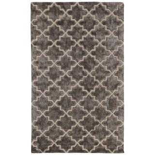 Berk Over Tufted Wool Blend Rug (8' x 10')