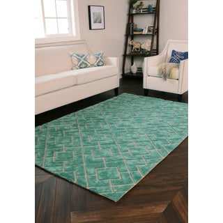 Kosas Home Tempest Over Tufted Wool Blend Rug (8' x 10')