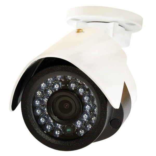 LaView HD 2.0MP IP 4mm Indoor/ Outdoor Weatherproof Security Camera with Night Vision (Pack of 2)