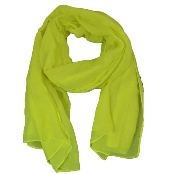 LA77 Bright Yellow Versatile Scarf