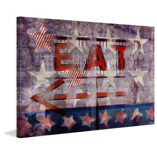 "Parvez Taj - ""Eat This Way"" Print on Canvas"
