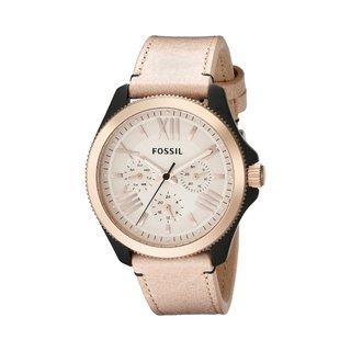Fossil Women's Cecile AM4624 Beige Leather Quartz Watch