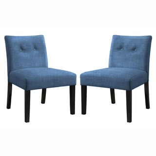 Angelo Home Bradstreet Parisian Ocean Blue Chair Set (Set of 2)