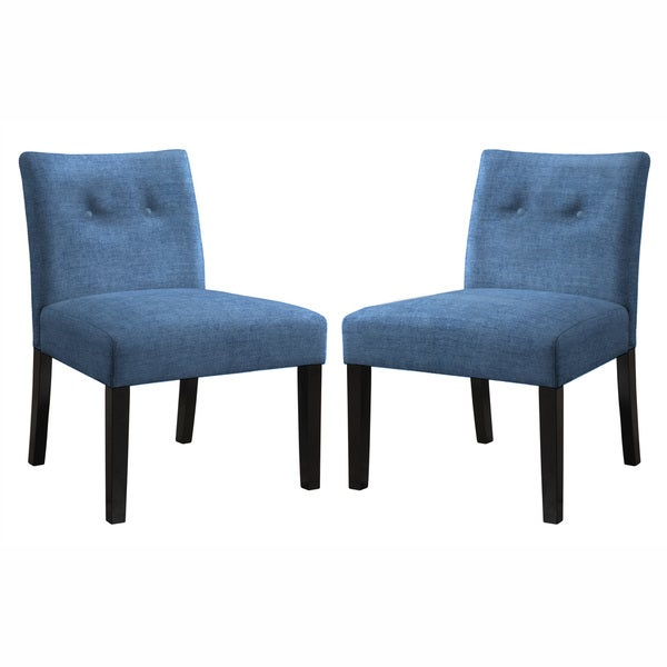 angelo:HOME Bradstreet Parisian Ocean Blue Chair Set (Set of 2)