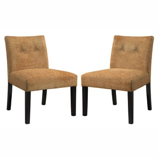 Angelo Home Bradstreet Parisian Rust Autumn Orange Chair Set (Set of 2)