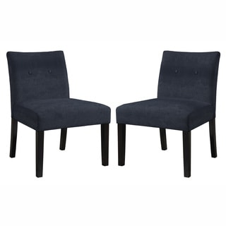 angelo:HOME Bradstreet Parisian Steel Blue Chair(Set of 2)