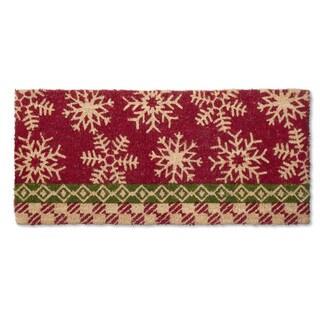 Snowflake Estate Coir Doormat