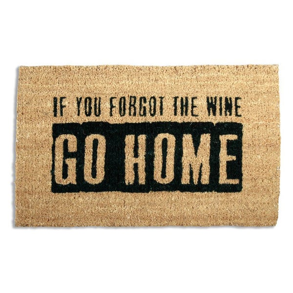 Where'S The Wine? Coir Doormat
