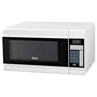 Oster OGT3901 White .9cu Microwave Oven