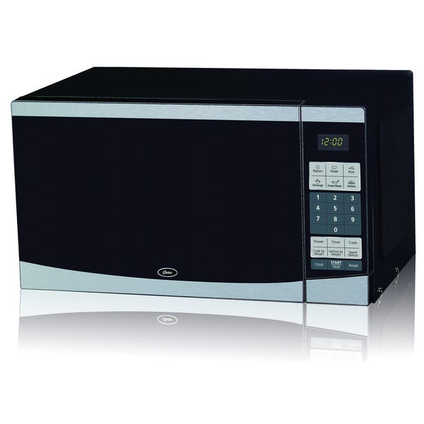 Oster OGYU701 Stainless Steel .7cu Microwave Oven