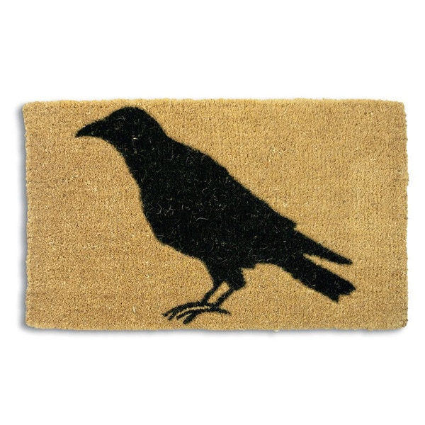 Black Crow Coir Doormat