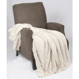 BNF Home Single Faux Fur Throw
