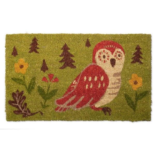 Oscar Owl Coir Doormat