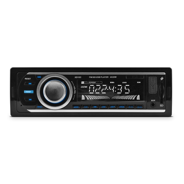 XO Vision FM and MP3 Stereo Receiver with USB Port and SD Card Slot