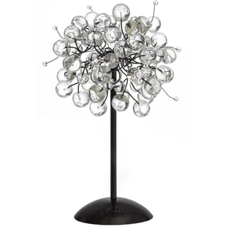 Luna Crystal Glam Beads Table Lamp