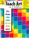 How to Teach Art to Children (Paperback)