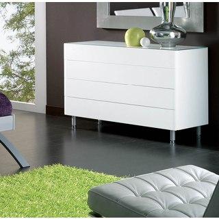 Luca Home White Double Dresser
