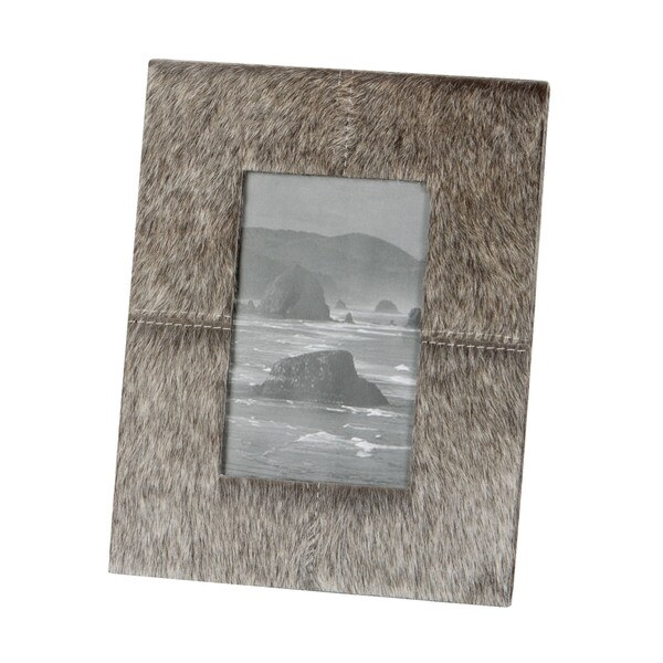 Dimond Home Leather Faux Pony Frame