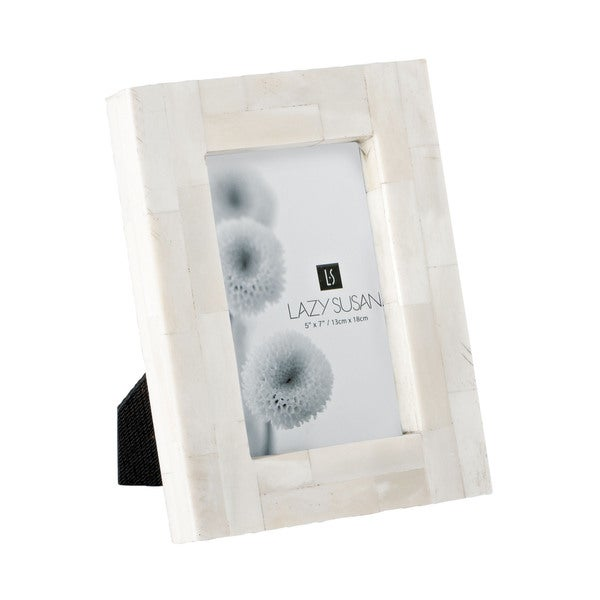 Dimond Home Stone Resin Bone Block Frame