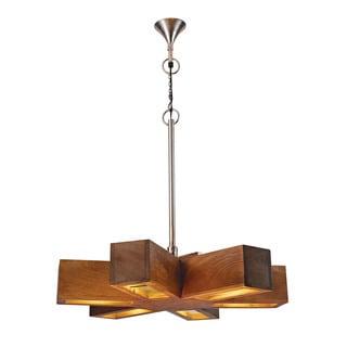 Dimond Home Retro 6-light Spoke Pendant
