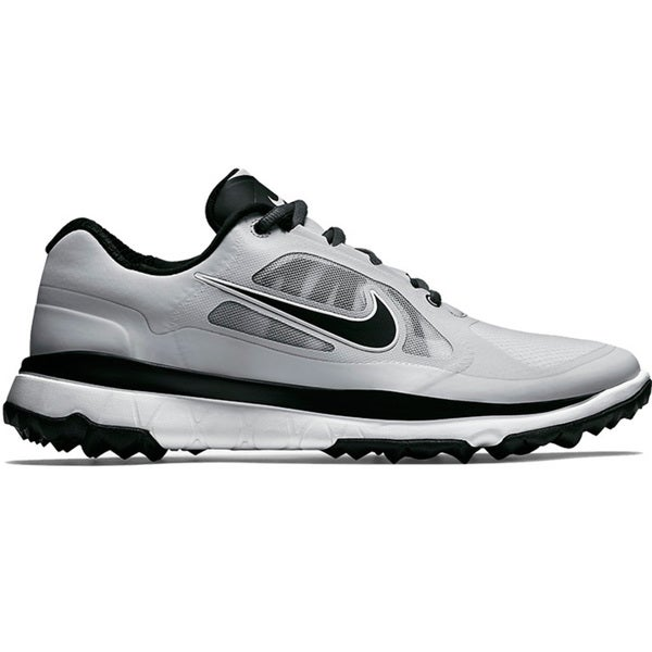Nike FI Impact Golf Shoes - Mens - Light Grey/Black/Light Grey/Medium Grey