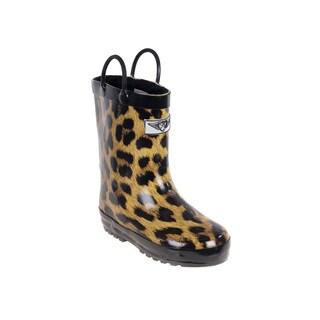 Kids' Leopard Rain Boots