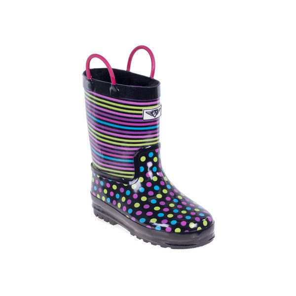Kids' Disco Dots Rain Boots