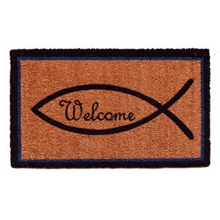 Christian Welcome Doormat