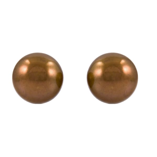 Freshwater Cultured Pearl Stud Earrings
